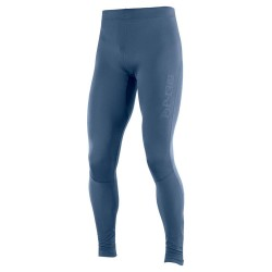 SALOMON AGILE LONG TIGHT-Azul oscuro