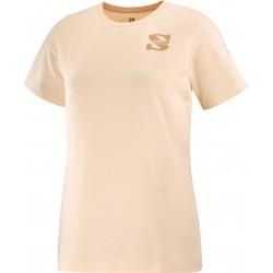 copy of Camiseta SALOMON OUTLIFE SMALL LOGO para mujer-Salmón