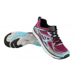 Zapatillas TOPO TRIBUTE para mujer-Trail running y senderismo-Magenta/Azul