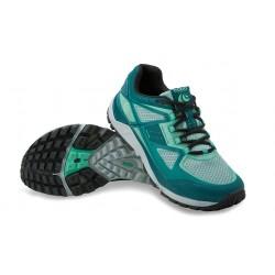 Zapatillas TOPO TERRAVENTURE para mujer-Trail running y senderismo-Verde azulado/Menta